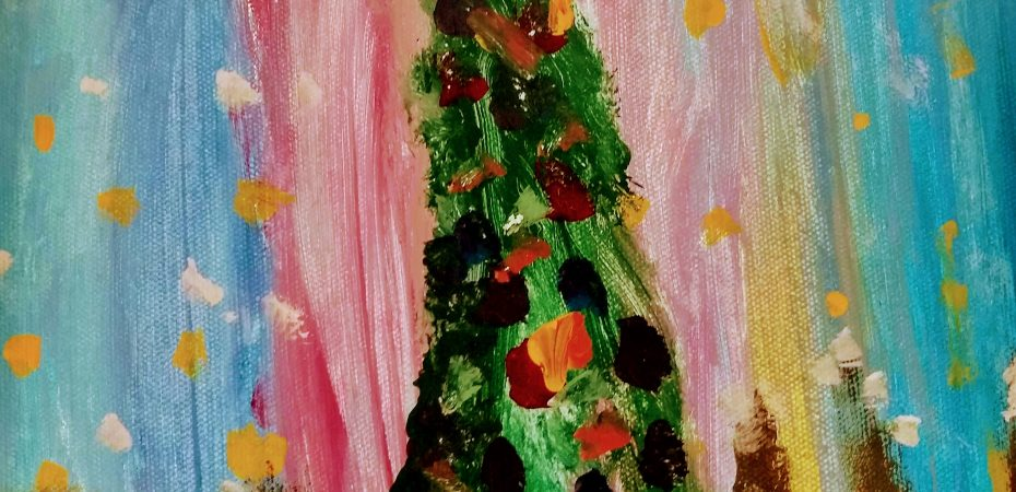 Christmas Tree Painting