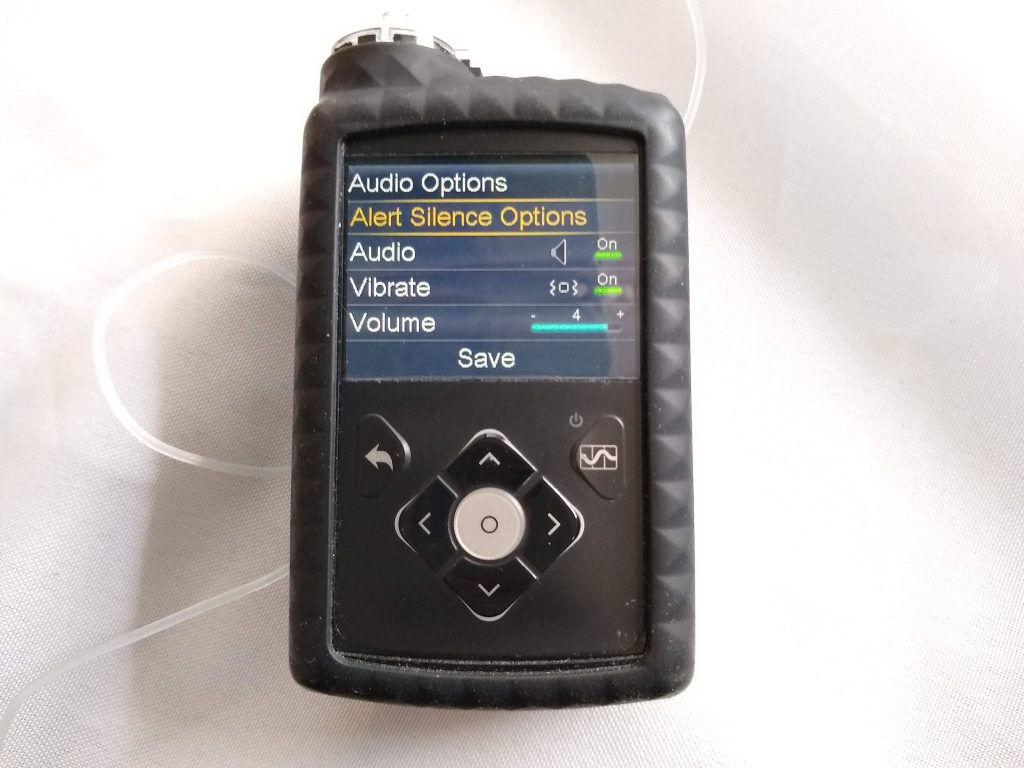 Medtronic Insulin Pump 670G Audio Options